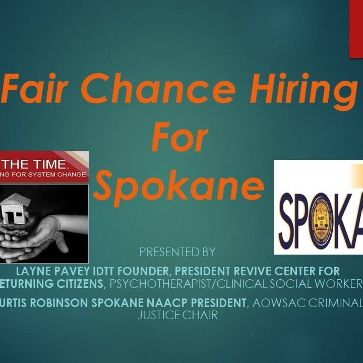 Want to get briefed on the Fair Chance Hiring …